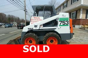 sold 753 Bobcat skid steer loader