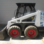 bobcat skit steer loader 743B