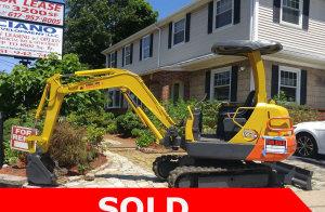 sold Yanmar excavator